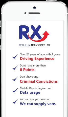iphoneRegelux-Transport
